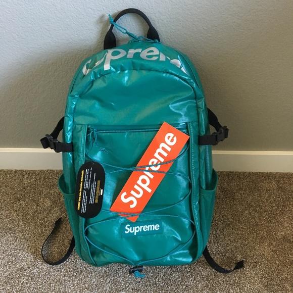 c95afd5e0e Supreme Dark Teal FW 17 backpack. M 5a8f4afe05f430fdab0479b9